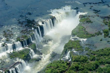 Iguazu Falls, Argentina, Brazil Border